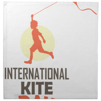 Fourteenth January - International Kite Day Napkin