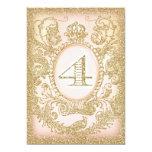 Fourth Birthday Once Upon a Time Princess 13 Cm X 18 Cm Invitation Card
