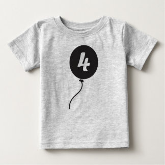 Fourth Birthday Shirt