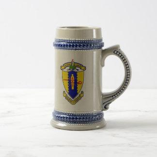 Fourth Cavalry crest Beer Stein