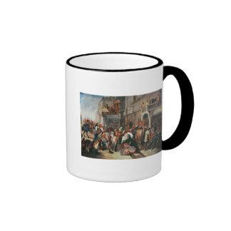 Fourth Dragoon Guards leaving Coffee Mugs