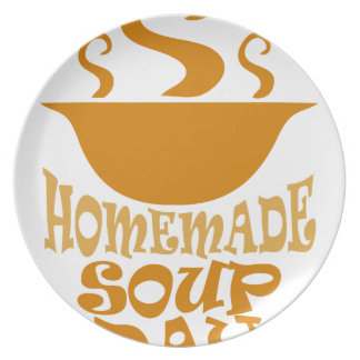 Fourth February - Homemade Soup Day Plate