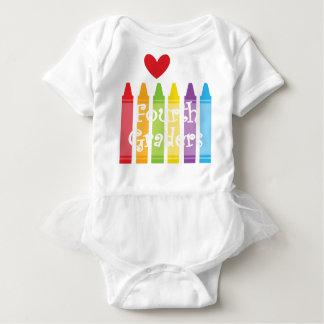 Fourth grade teacher2 baby bodysuit