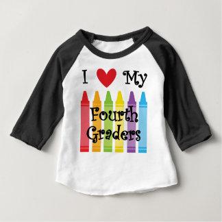 Fourth grade teacher baby T-Shirt