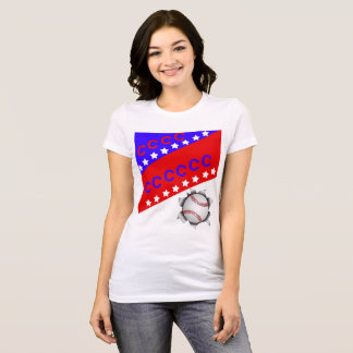 Fourth July Baseball T-Shirt