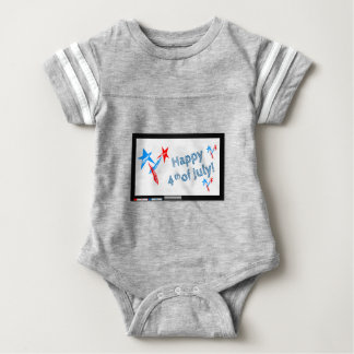 Fourth-of-July #2 Baby Bodysuit