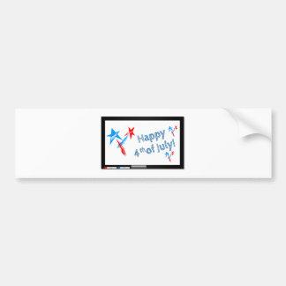 Fourth-of-July #2 Bumper Sticker