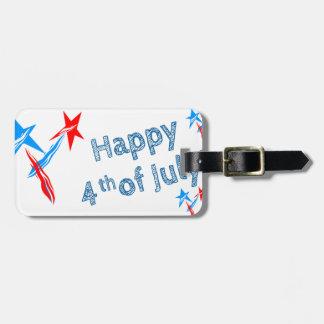 Fourth-of-July #2 Luggage Tag