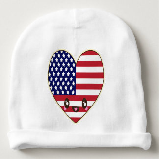Fourth Of July 4th Baby Beanie