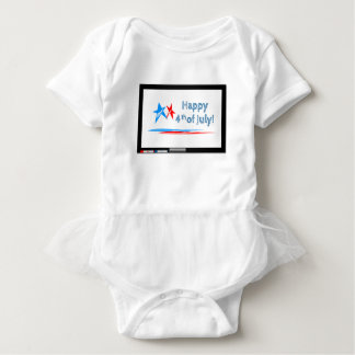 Fourth-of-July Baby Bodysuit