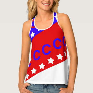 Fourth of July Baseball Singlet