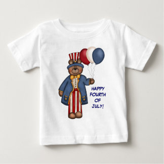 Fourth Of July Bear T-shirt
