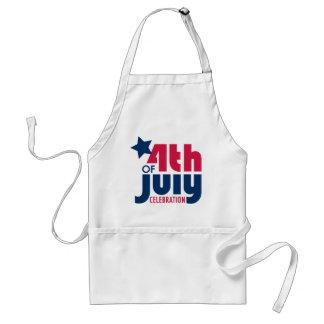 Fourth of July Celebration Apron