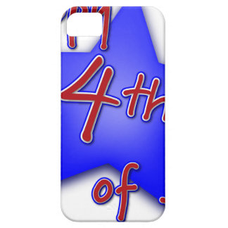 Fourth of July Celebration Barely There iPhone 5 Case