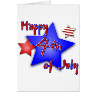 Fourth of July Celebration Card