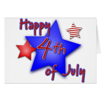 Fourth of July Celebration Card