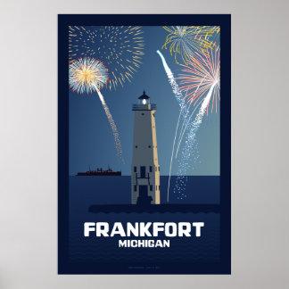 Fourth of July Celebration, Frankfort, Michigan Li Poster