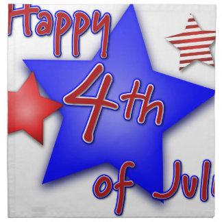 Fourth of July Celebration Napkin