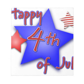 Fourth of July Celebration Notepad
