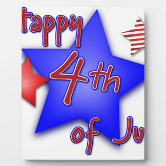 Fourth of July Celebration Plaque