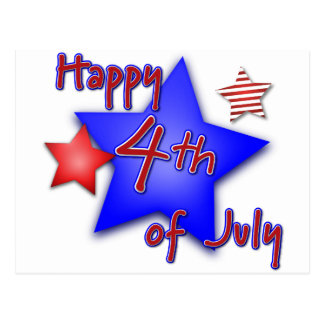 Fourth of July Celebration Postcard