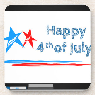 Fourth-of-July Coaster