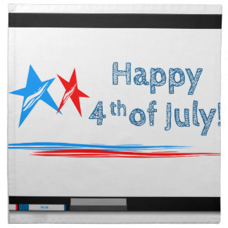 Fourth-of-July Napkin