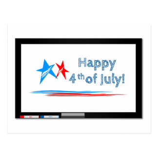 Fourth-of-July Postcard