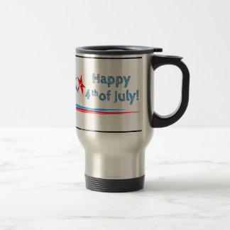 Fourth-of-July Travel Mug