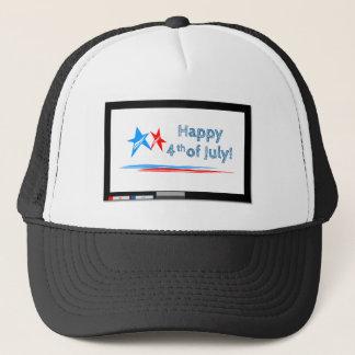 Fourth-of-July Trucker Hat