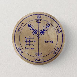 Fourth Pentacle of Jupiter 6 Cm Round Badge