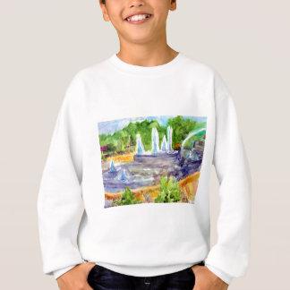 Foutain downtown Olathe.jpg Sweatshirt