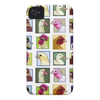 Fowl birds: Fowls (chicken, duck, goose, turkey) iPhone 4 Covers