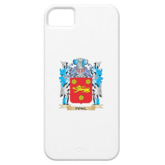 Fowl Coat of Arms - Family Crest iPhone 5 Cover