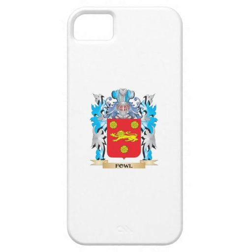 Fowl Coat of Arms - Family Crest iPhone 5/5S Cases