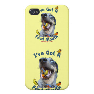 Fowl Mouth Bird Dog iPhone 4/4S Cases