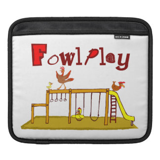 Fowl Play Sleeve For iPads
