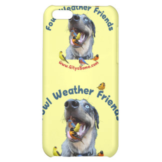 Fowl Weather Friends Dog iPhone 5C Cases