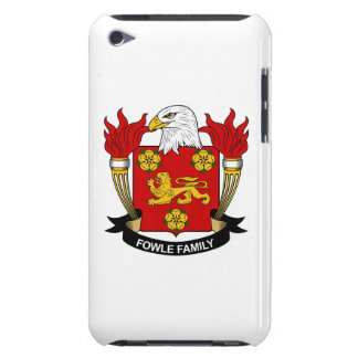 Fowle Family Crest Barely There iPod Covers