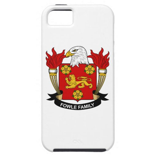 Fowle Family Crest iPhone 5 Covers