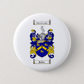 FOWLER FAMILY CREST -  FOWLER COAT OF ARMS 6 CM ROUND BADGE