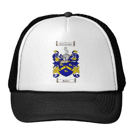 FOWLER FAMILY CREST -  FOWLER COAT OF ARMS TRUCKER HATS