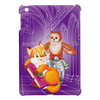 fox and owl cover for the iPad mini