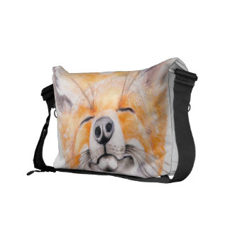 fox and poppies courier bags