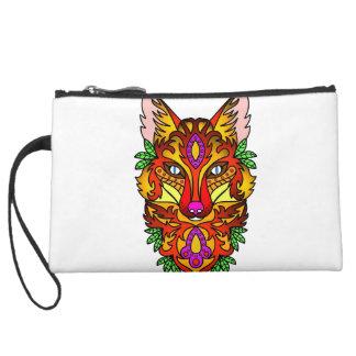 Fox Animal Wristlet Purse
