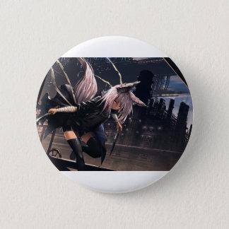 Fox Assassin 6 Cm Round Badge