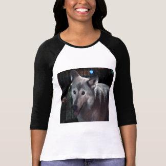 FOX at night dangerous animal cunning wild creatur Tshirts