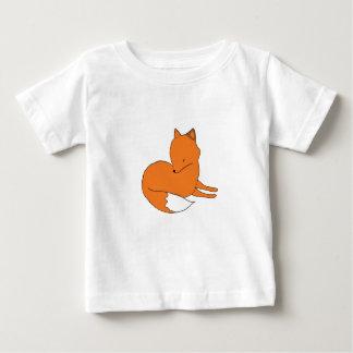 Fox Baby Fine Jersey T-Shirt, White Baby T-Shirt