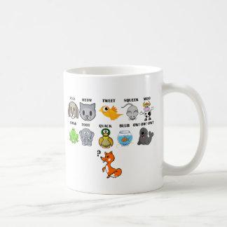 Fox Basic White Mug