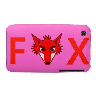 Fox Blackberry Curve Case-Mate Case Case-Mate iPhone 3 Case
